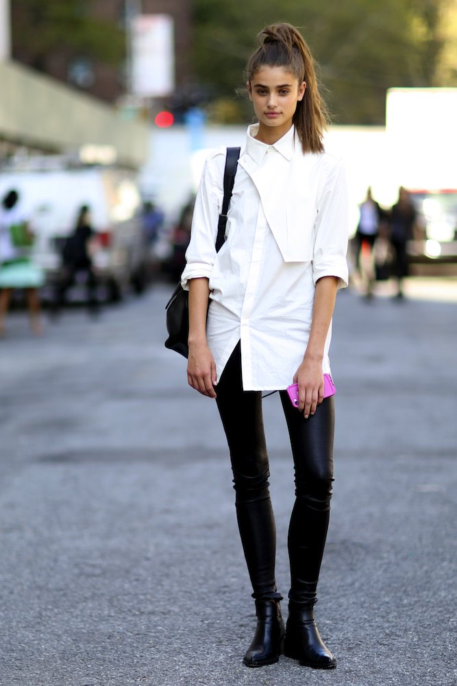 Model Street Style from NYFW Spring 2015