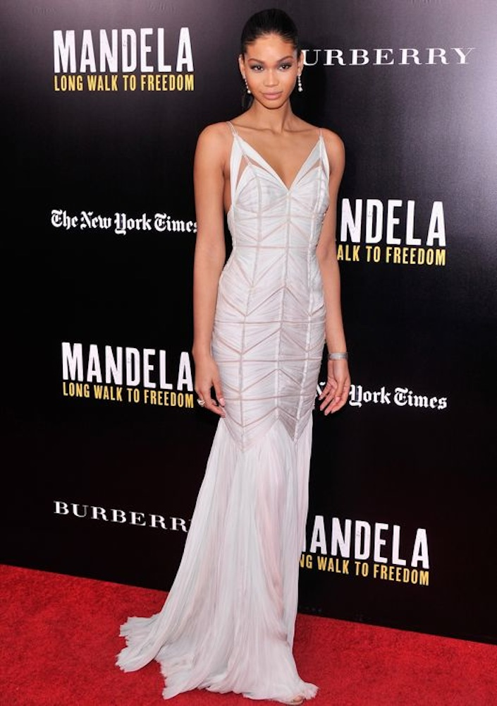 The Sleek Sophisticate: Chanel Iman
