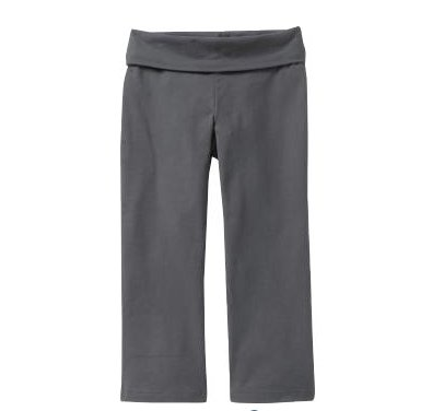 Old Navy Women's Fold-Over Yoga Capris