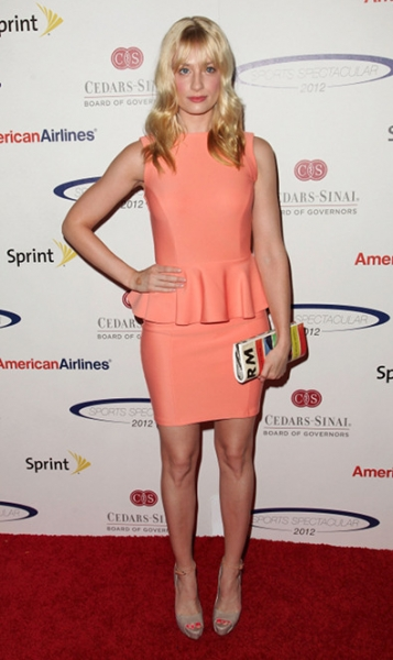 Beth Behrs at Sports Spectacular