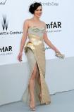 Milla Jovovich in Versace Alterier