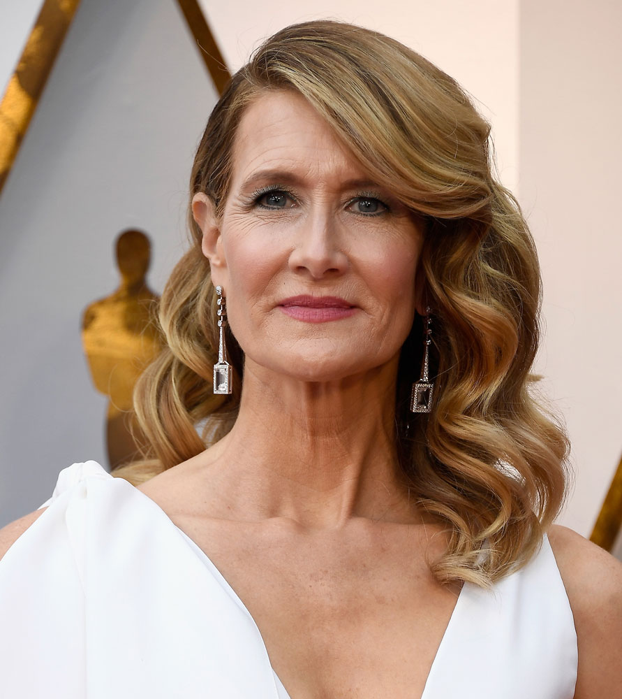 Best: Laura Dern  The Best (and Worst!) Beauty Looks From the 2018 Oscars laura dern