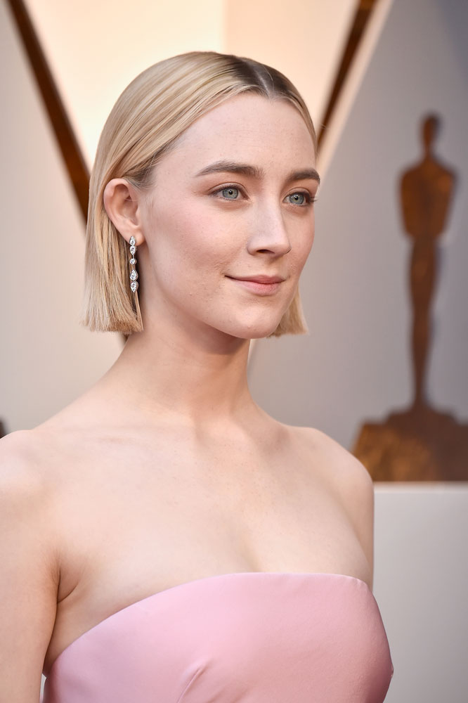 Best: Saoirse Ronan  The Best (and Worst!) Beauty Looks From the 2018 Oscars saoirse ronan oscars