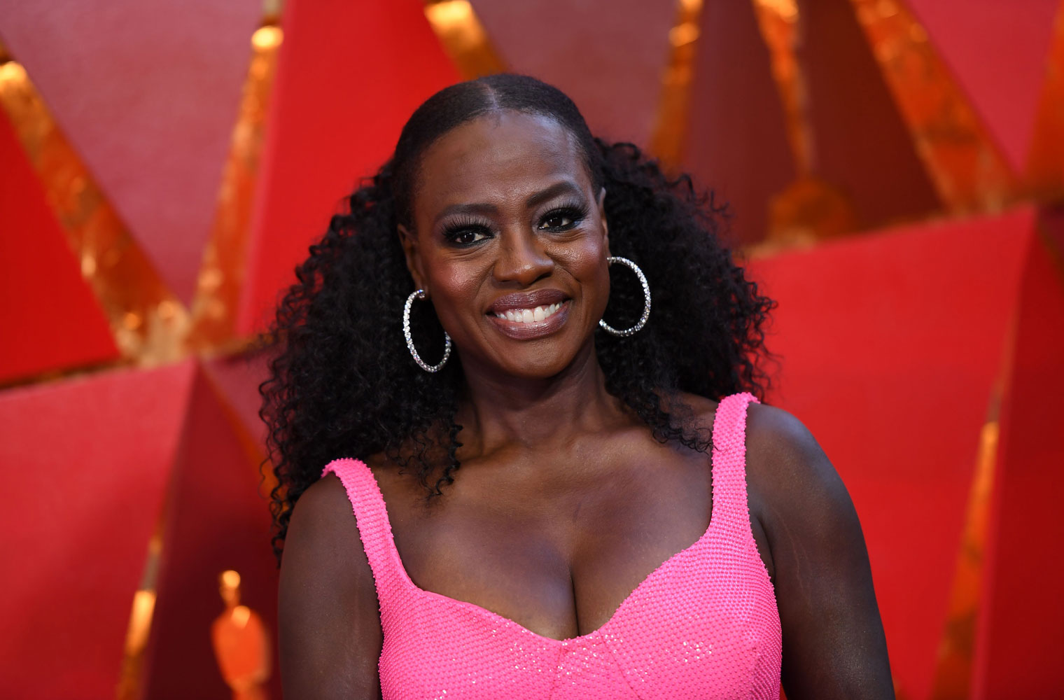 Best: Viola Davis  The Best (and Worst!) Beauty Looks From the 2018 Oscars viola davis