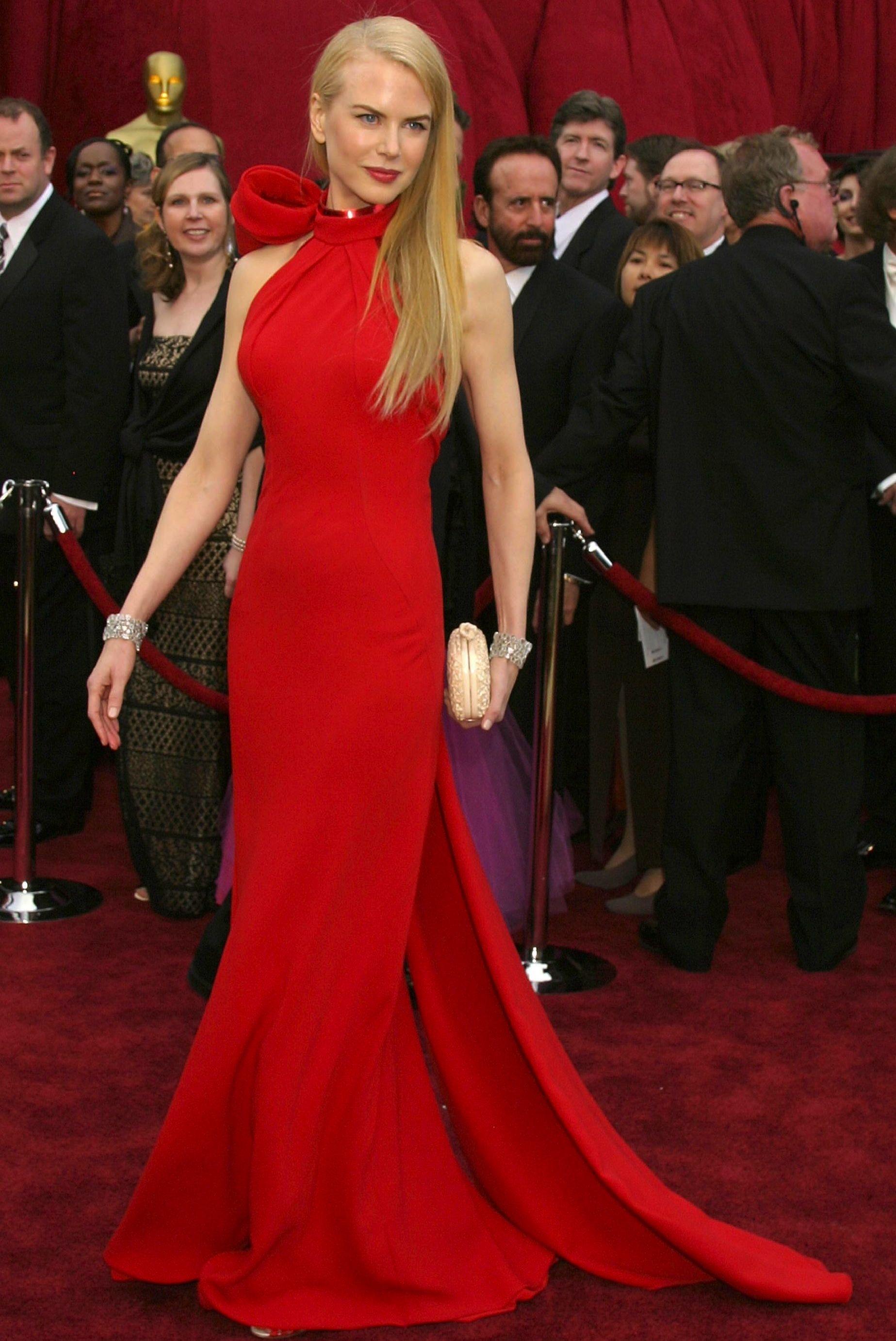 One Shoulder Dress Nicole Kidman