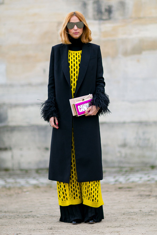 Street style chic from paris fashion week spring 2017