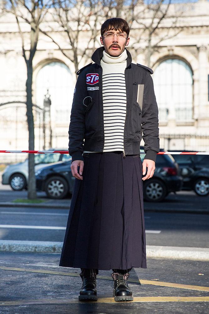 Street Style Paris Men 39 S Fashion Week Fall 2016 Thefashionspot