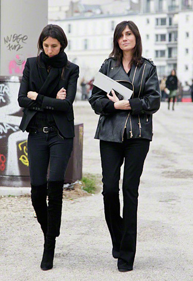 Geraldine Saglio &amp; Emmanuelle Alt