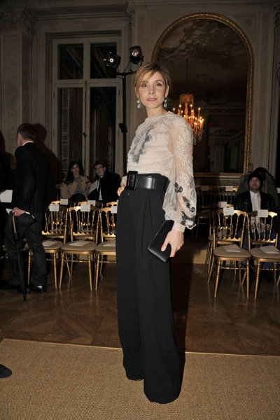 Clotilde Courau at Valentino