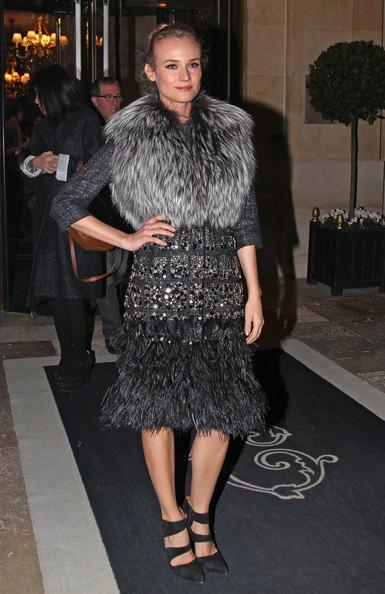 Diane Kruger at Giambattista Valli