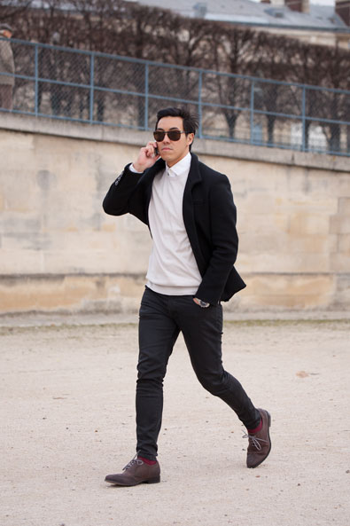 In Digital General Manager Roger Hie leaving the Tuileries