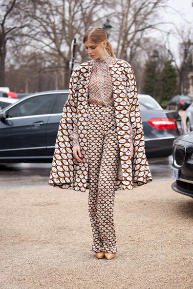 After Chanel, the outfit