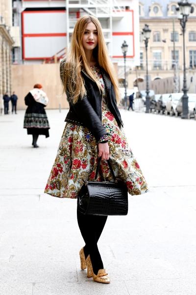 Paris Street Style, Fall 2013