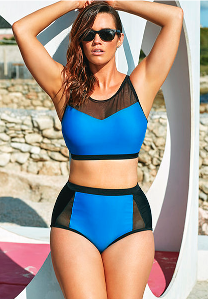 Plus size tankinis for spring-summer 2017