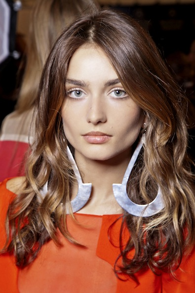 Diane von Furstenberg's Beach Waves