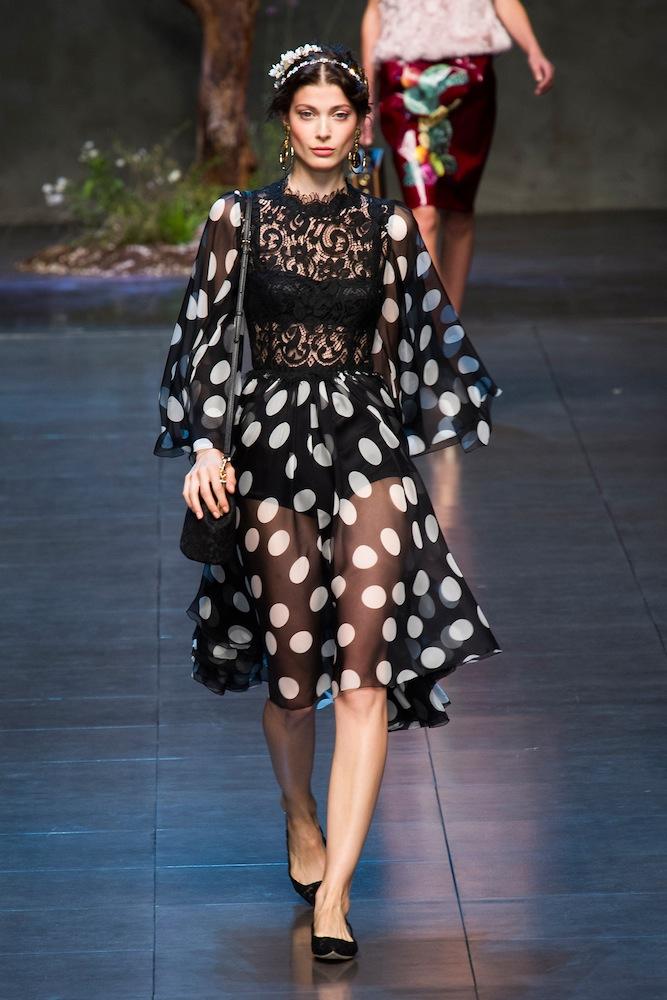 Polka Dots at Dolce & Gabbana