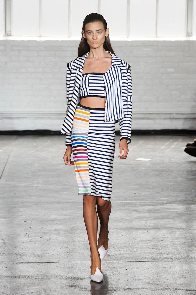Stripes at Tanya Taylor