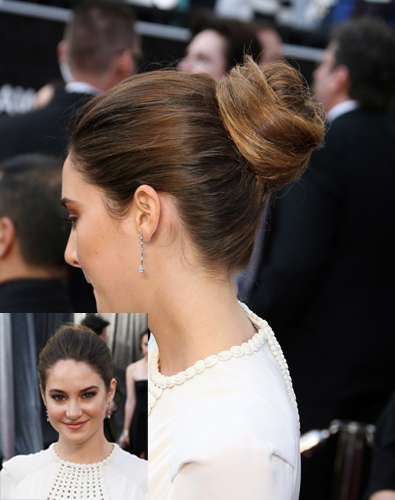 Best Bun: Shailene Woodley