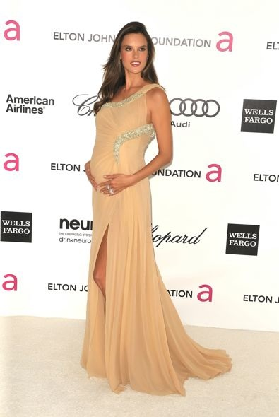 Alessandra Ambrosio at the 20th Anniversary Elton John AIDS Foundation Academy Awards Viewing Party