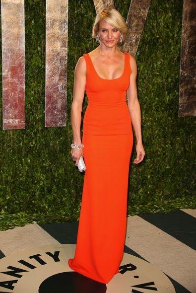 Cameron Diaz at the 2012 Vanity Fair Oscar Party