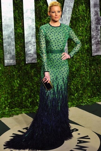 Elizabeth Banks at the 2012 Vanity Fair Oscar Party