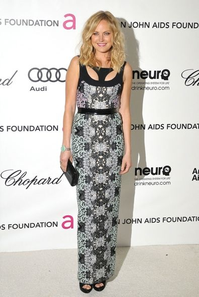 Malin Akerman at the 20th Annual Elton John AIDS Foundation Academy Awards Viewing Party