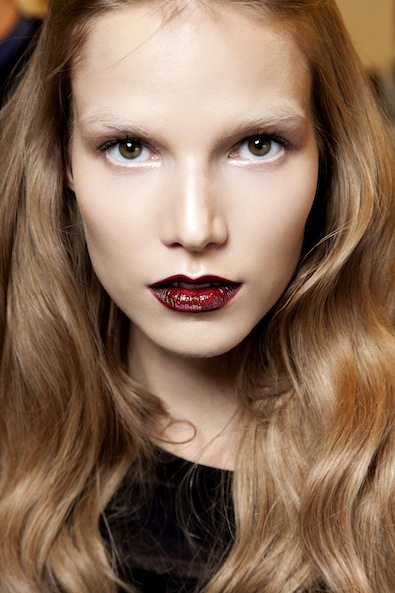 Alberta Ferretti's Vampy Mouth