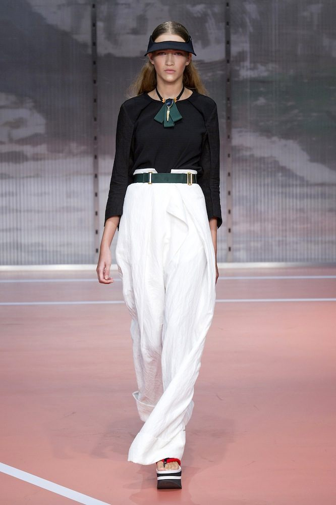 Wide-Legged Trousers at Marni