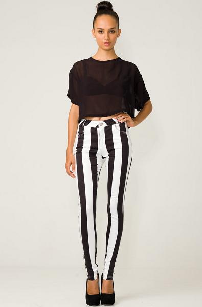 Striped Skinnies