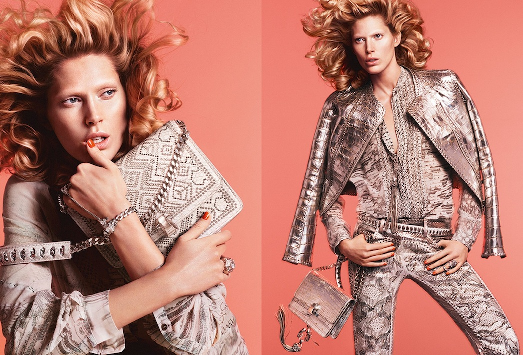 Roberto Cavalli Spring/Summer 2014 Advertising Campaign