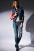 CAPTAIN AMERICA JACKET AND JANE SKINNY JEAN IN 3D