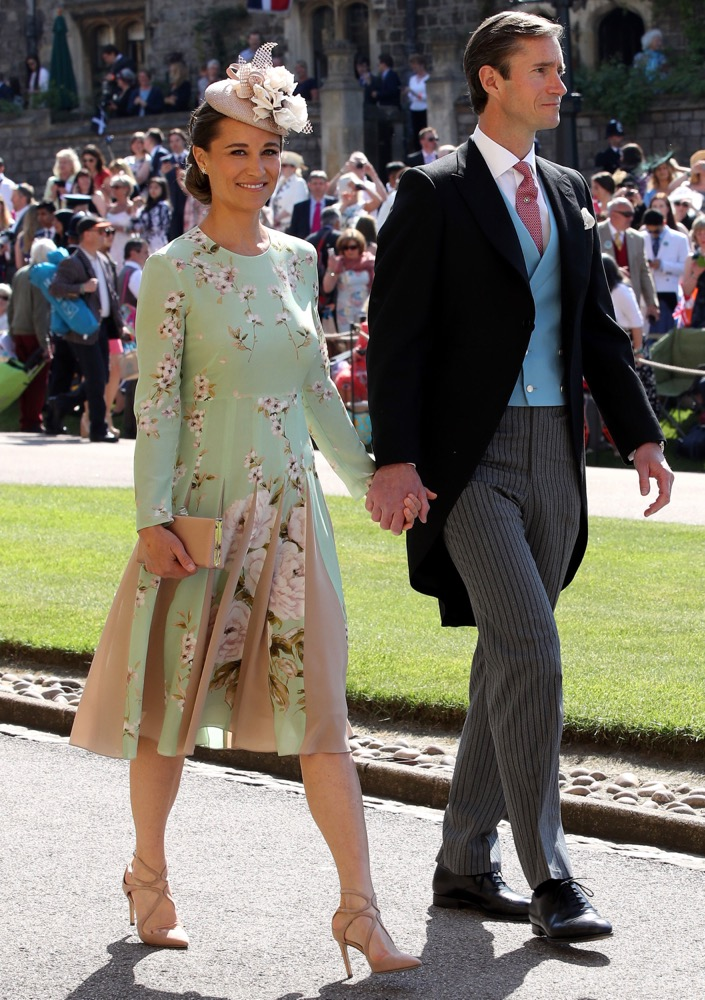 Pippa Middleton and James Matthews at the Ceremony
