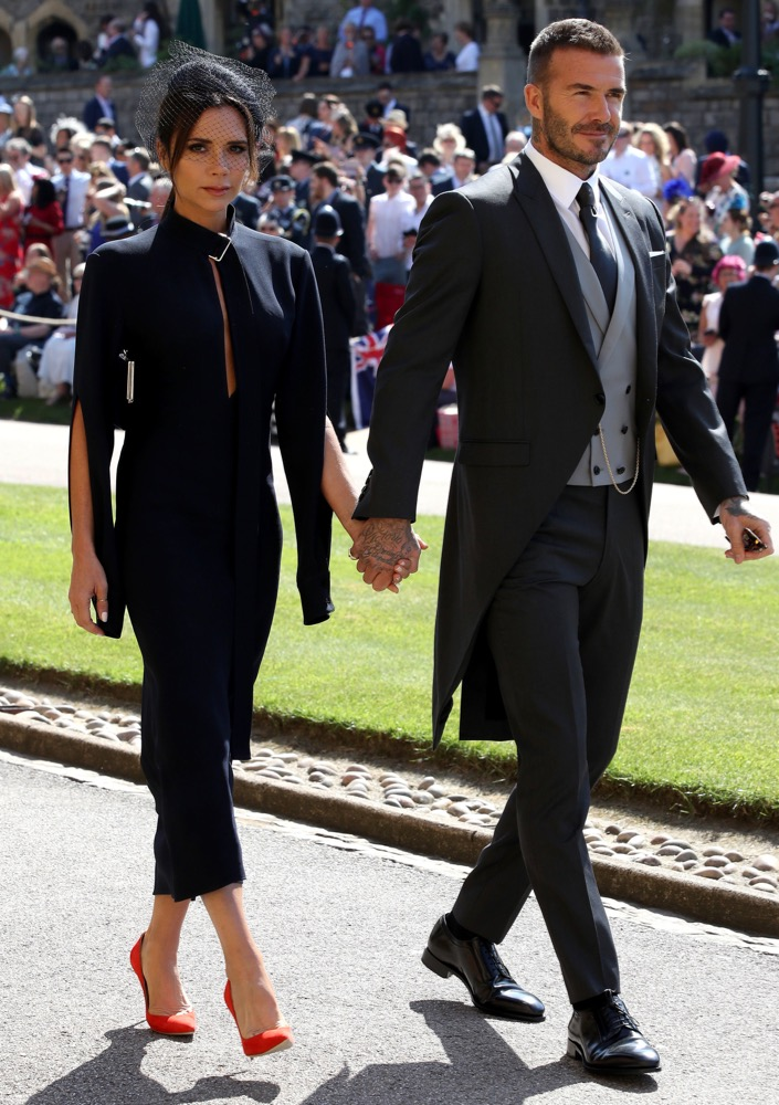 Victoria and David Beckham at the Ceremony