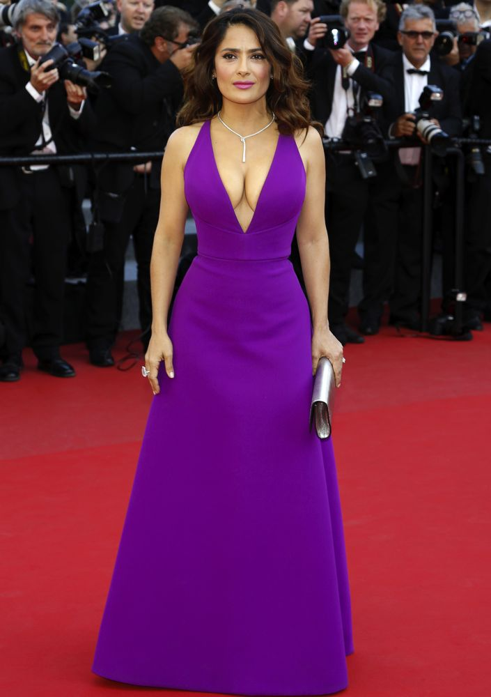 Salma Hayek\'s 14 Most Gorgeous Gowns Ever - theFashionSpot