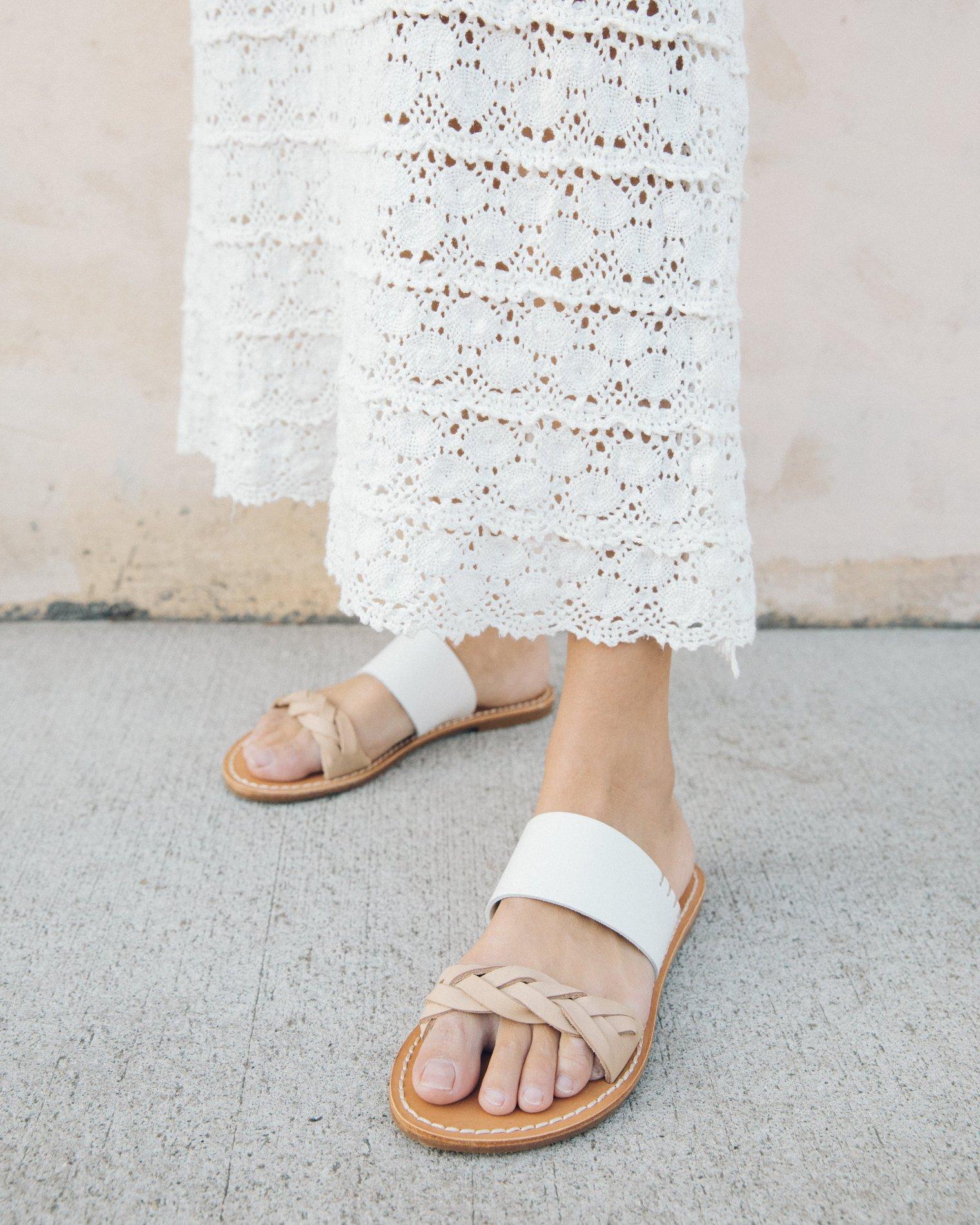 Strappy Flat Sandal Splurge: Soludos