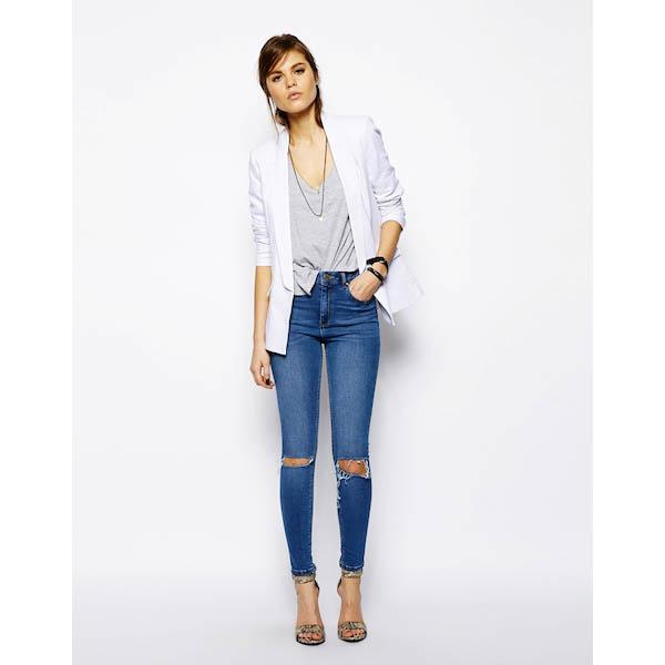 5. White Blazer