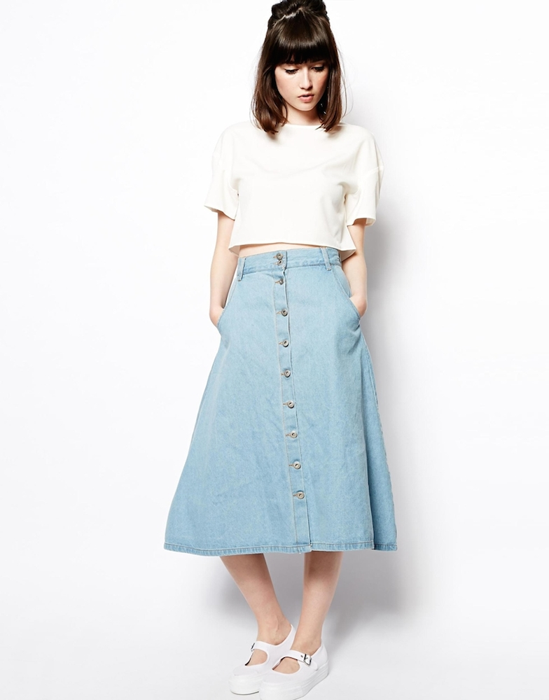 10 Shapely Midi Skirts That Will Have You Feeling Like a Lady ...