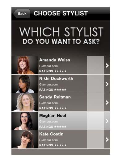 Glamour Magazine: Ask a Stylist
