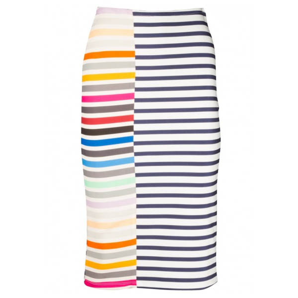 Tanya Taylor Striped Skirt