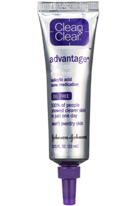8. Clean & Clear Advantage Spot Treatment