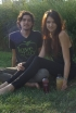 Carissa-Ann Santos and Jacob Mabanta