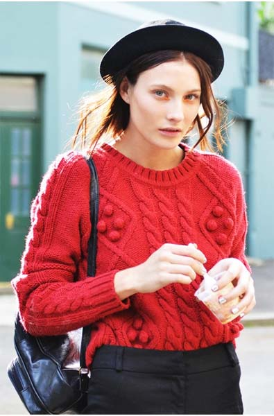 Street Style Knits
