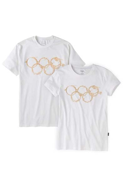 Is this an Olympic Tea-Stain T-Shirt?