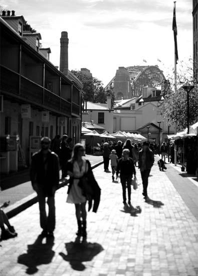 A Sydney Scene