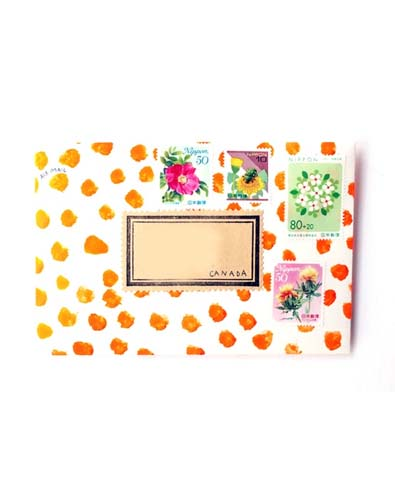 Painted Pretty Envelope