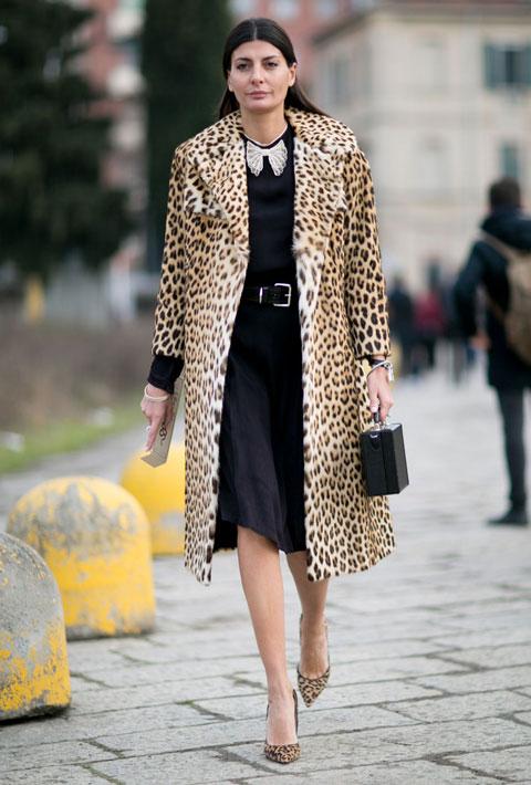 Giovanna Battaglia in Milan