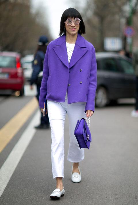 Eva Chen in Milan