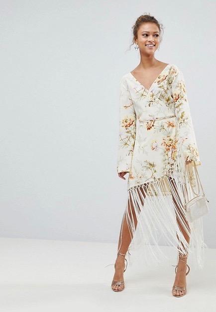 ASOS  25 Statement-Making Spring Dresses Under $100 ASOS Design Wrap Dress