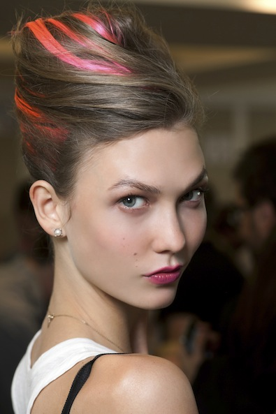 Oscar de la Renta's Punk Updo