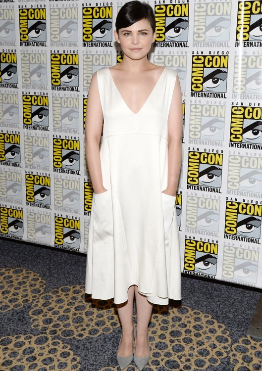 Ginnifer Goodwin at the Once Upon a Time Press Line
